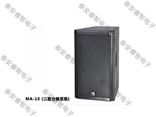 舞台演出音响-MA系列音箱 MA-15